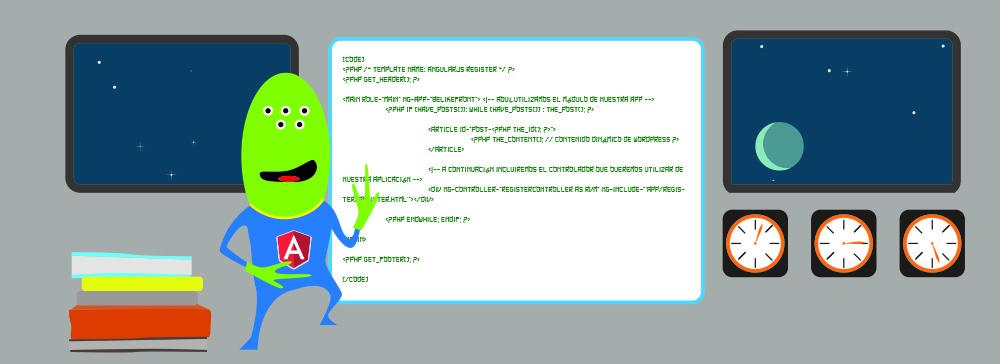 Cómo incrustar una aplicación AngularJS en WordPress
